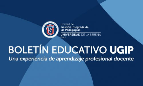 BOLETIN EDUCATIVO UGIP N1 Mayo